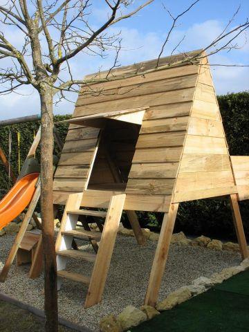 cabane a jouer petites annonces jardin bricolage outils lanton. Black Bedroom Furniture Sets. Home Design Ideas